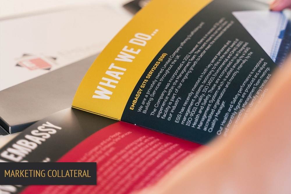 Brand Elect Embassy Marketing Collateral