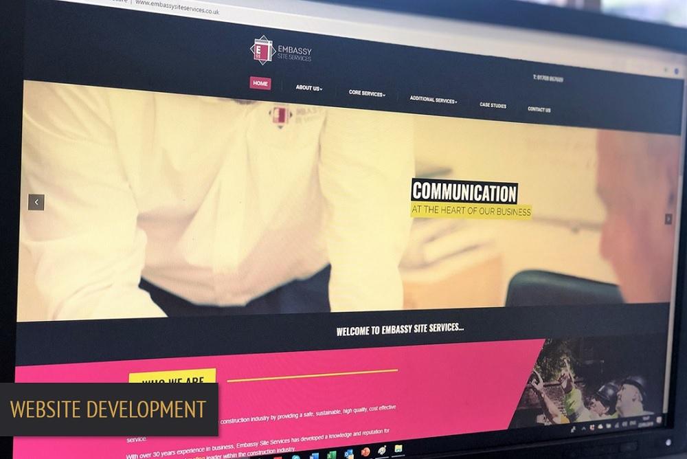 Brand Elect Embassy Website Development