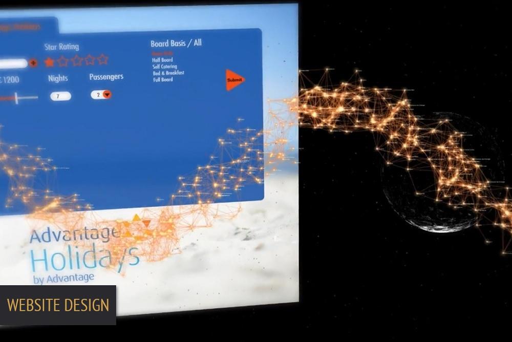 Brand Elect Advantage Travel Website Design