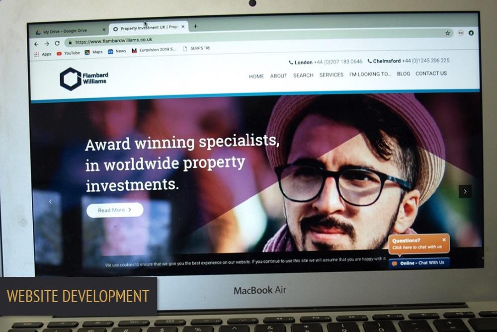 Brand Elect Flambard Williams Website Development