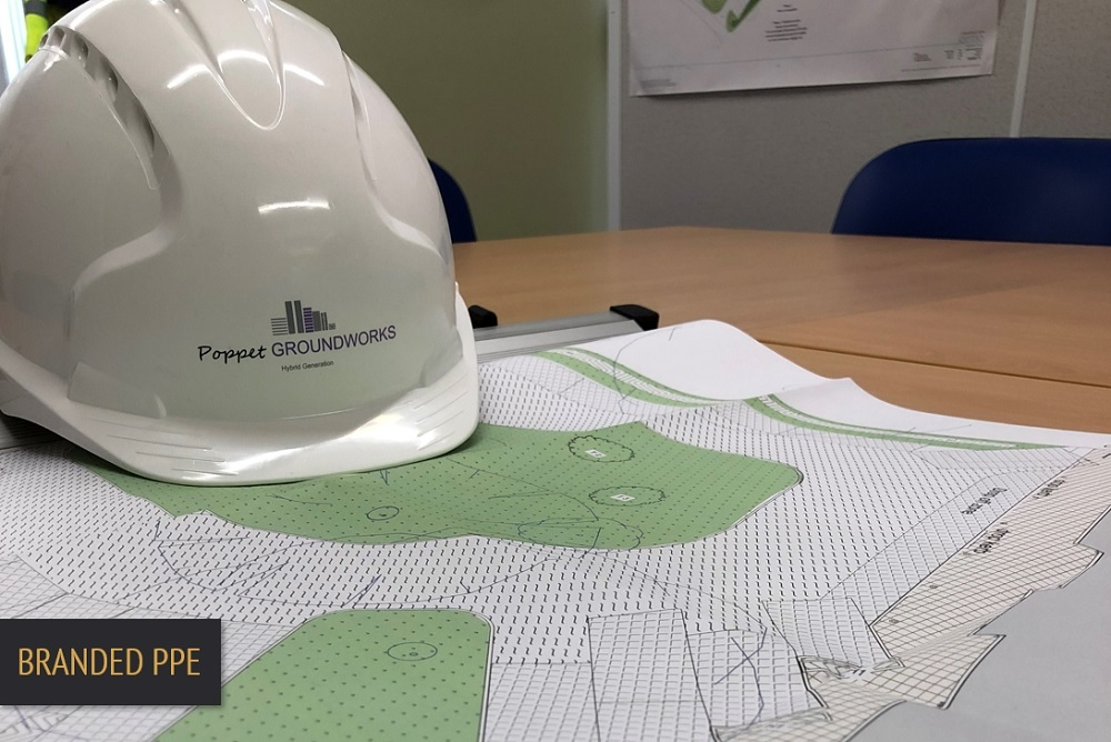 Brand Elect Poppet Construction Branded PPE
