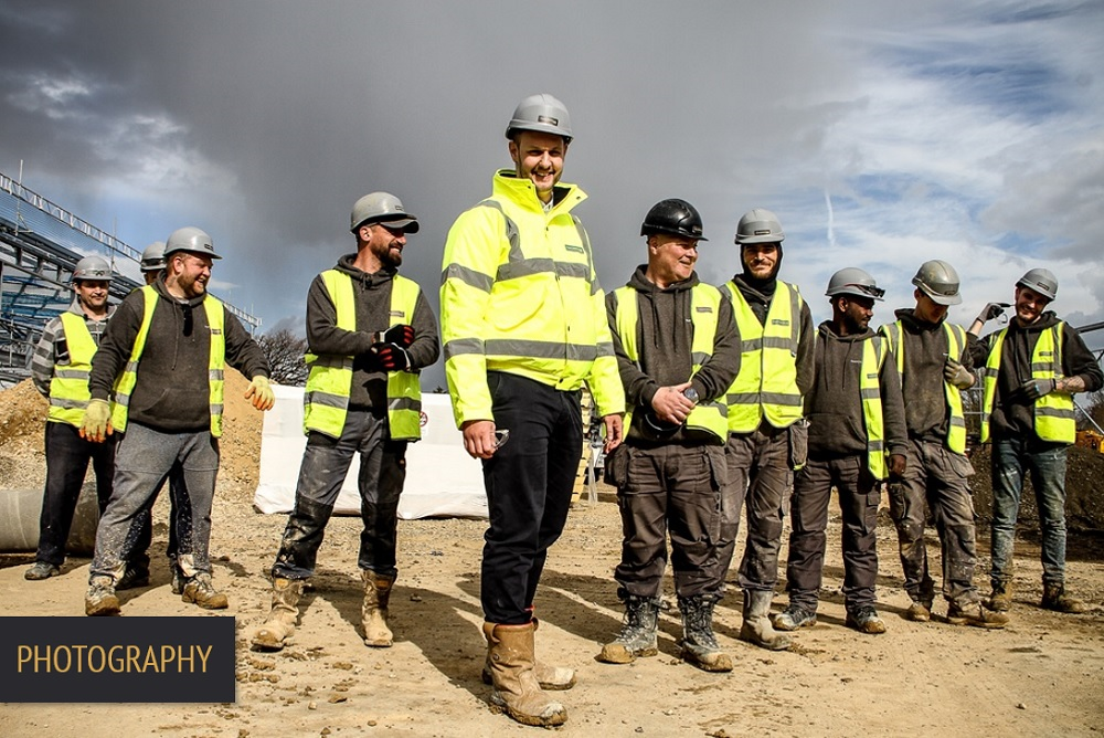 Brand Elect Poppet Construction Photography HERO